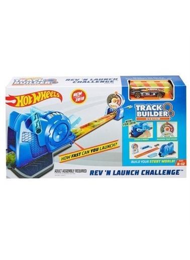 Hot Wheels  Track Builder Fırlatıcılı Yarış Seti Fll02 Renkli